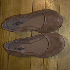 Lucky Brand Brown Flats - Size 8.5✨ Cute Great Con